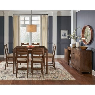 Simply Solid Whitney Solid Wood 8-piece Dining Collection