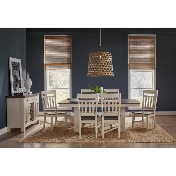 Simply Solid Bradley Solid Wood 8-piece Dining Collection