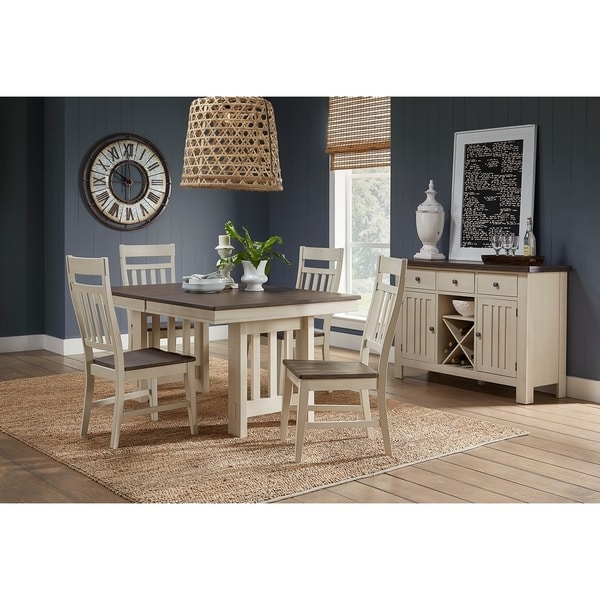 Simply Solid Bronwyn Solid Wood 6-piece Dining Collection