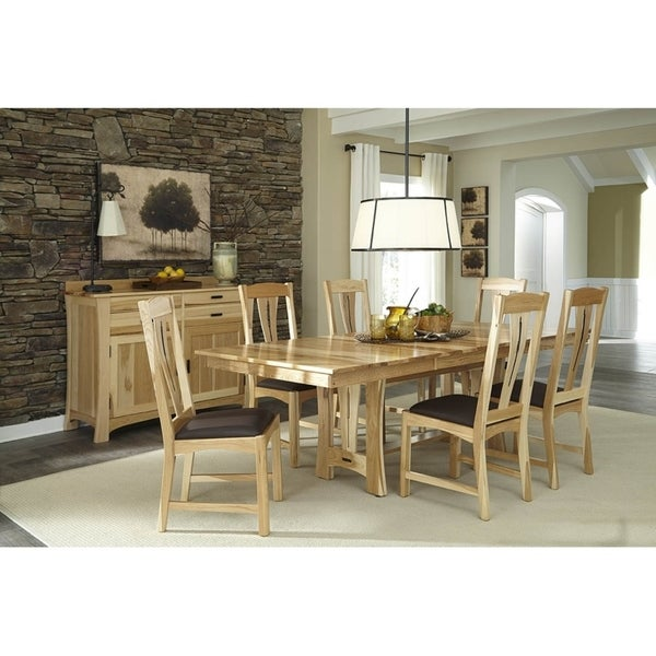 Simply Solid Amphora Solid Wood 7-piece Dining Collection