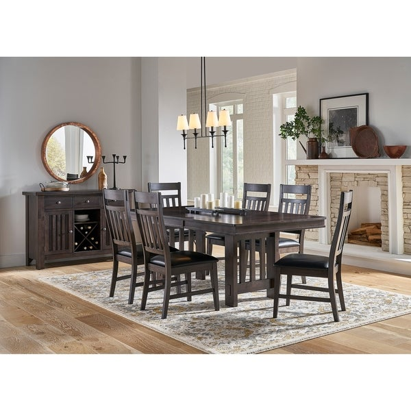 Simply Solid Brogan Solid Wood 8-piece Dining Collection
