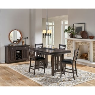 Simply Solid Brockton Solid Wood 5-piece Dining Collection
