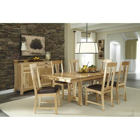 Simply Solid Amphora Solid Wood 9-piece Dining Collection
