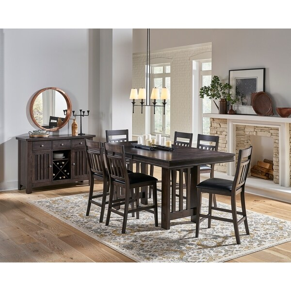 Simply Solid Brockton Solid Wood 8-piece Dining Collection