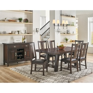 Simply Solid Solera Solid Wood 8-piece Dining Collection