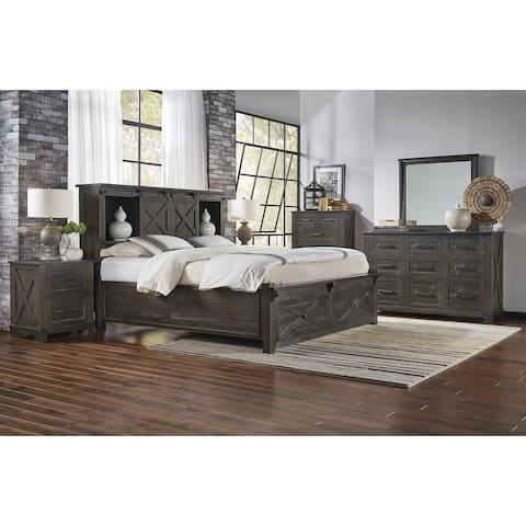 Simply Solid Sharla Solid Wood 5-piece Storage Bedroom Collection
