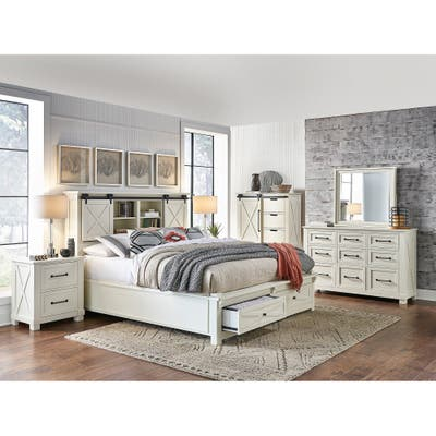 White Modern Contemporary Bedroom Sets Online At