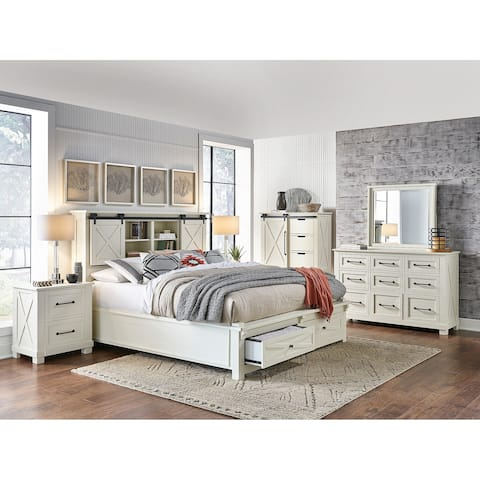 Simply Solid Shanna Solid Wood 6-piece Storage Bedroom Collection