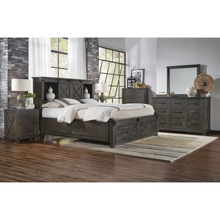 Simply Solid Sharla Solid Wood 3-piece Storage Bedroom Collection