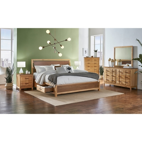 Simply Solid Marsanne Solid Wood 5-piece Storage Bedroom Collection