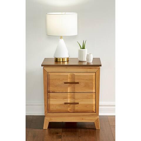 Simply Solid Marsanne Solid Wood 2-drawer Nightstand