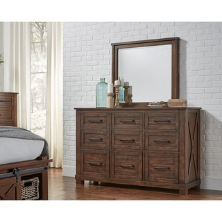 Simply Solid Shelba Solid Wood 9-drawer Dresser