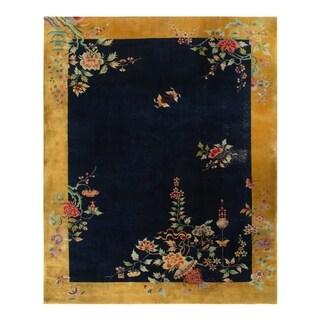 Pasargad Antique Fine Art Deco - 9'1'' X 11'5'' - 9'1'' X 11'5''