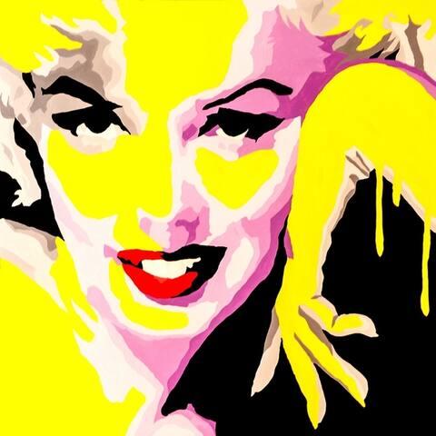 CANVAS Temptress Marilyn Monroe By PopArtQueen