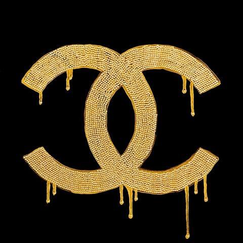 CANVAS Chanel Gold Lust By PopArtQueen