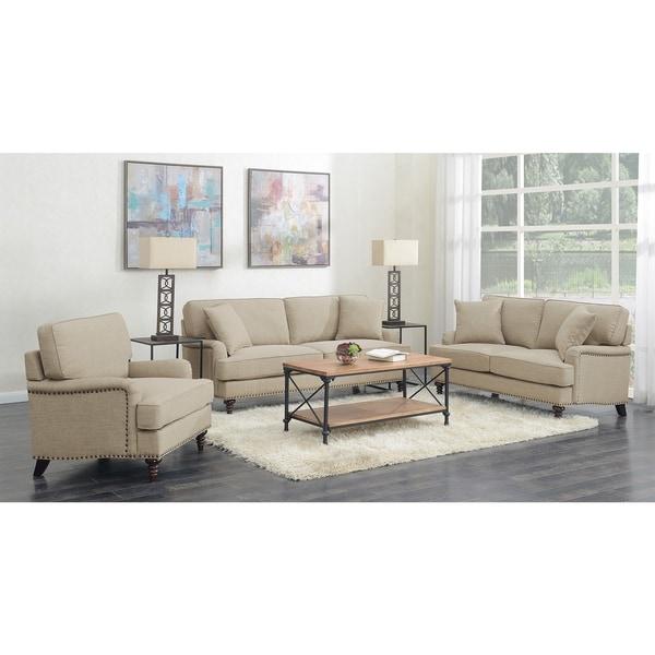 Picket House Furnishings Cassandra 3PC Set-Sofa, Loveseat & Chair