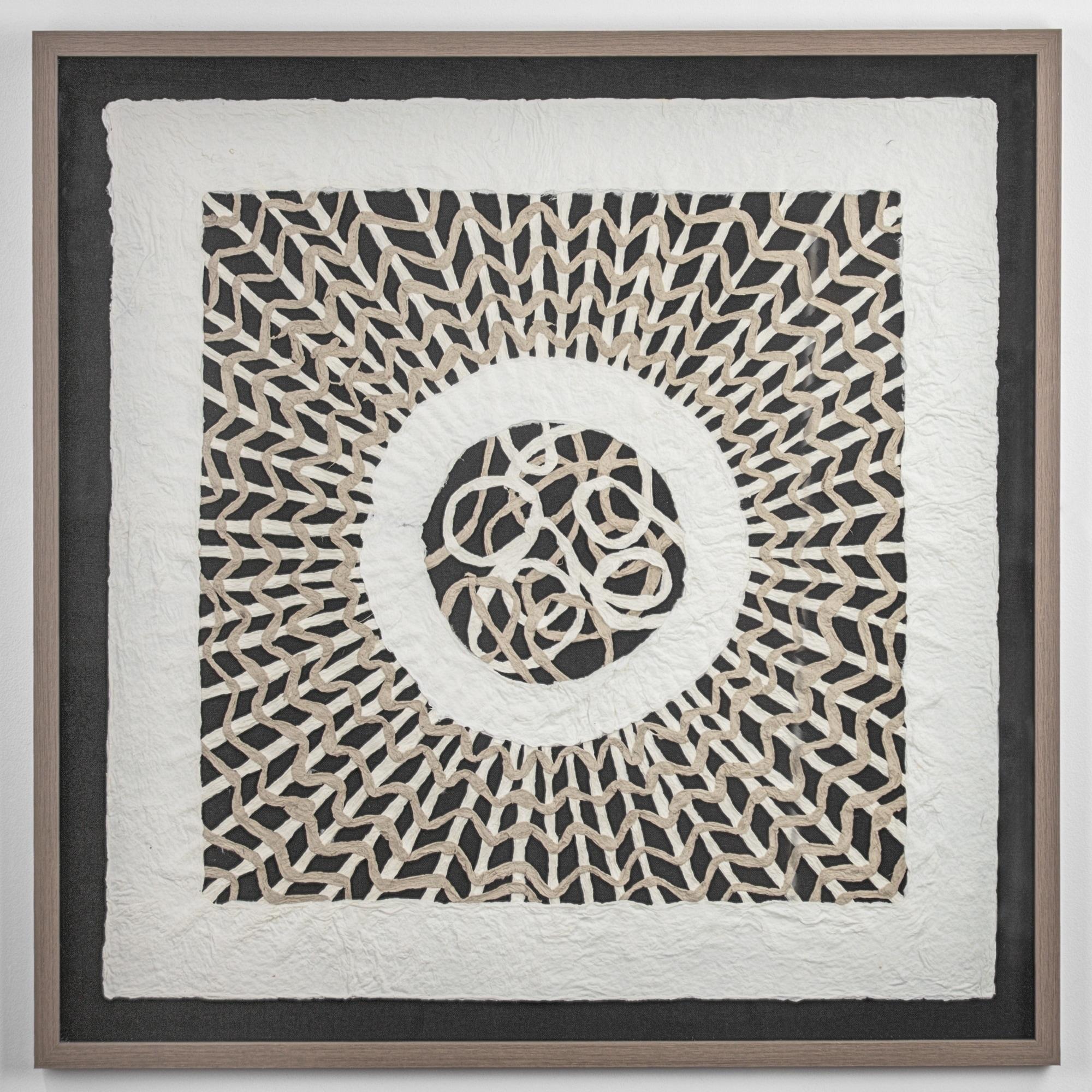 Handmade Rice Paper Wall Art 31 X 31 On Sale Overstock 29141447