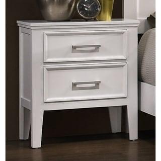 Copper Grove Zabbar White 2-drawer Nightstand