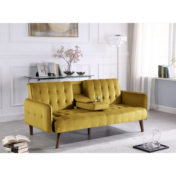 Superb Shop Carson Carrington Salsater Convertible Sleeper Sofa Bed Gmtry Best Dining Table And Chair Ideas Images Gmtryco
