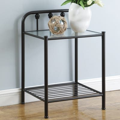Buy Includes Hardware Glass Nightstands Bedside Tables Online