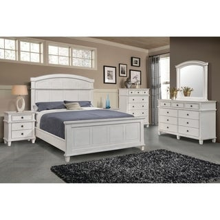 The Gray Barn Avalon Antique White 5-piece Bedroom Set