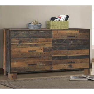 Carbon Loft Romang Rustic Pine 6-drawer Dresser