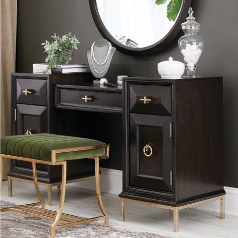 "Strick & Bolton Ballam Vanity Desk - 55"" x 18"" x 31.75"""