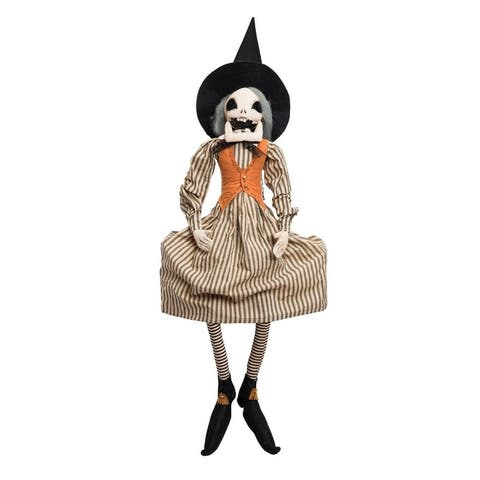 Magdalena Witch Joe Spencer Gathered Traditions Art Doll