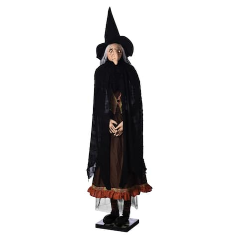 Ezmeralda Life Size Witch Joe Spencer Gathered Traditions Art Doll