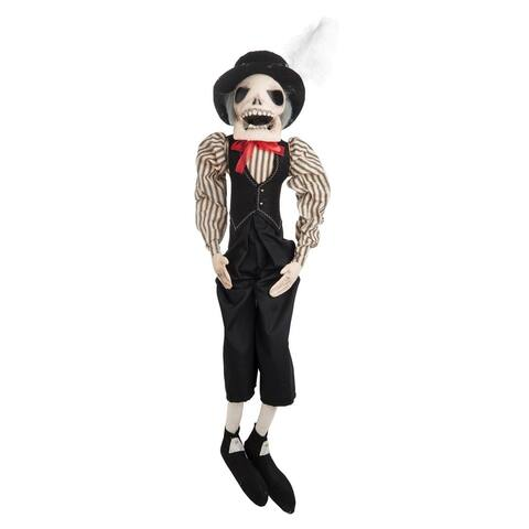 Pascual Skeleton Joe Spencer Gathered Traditions Art Doll