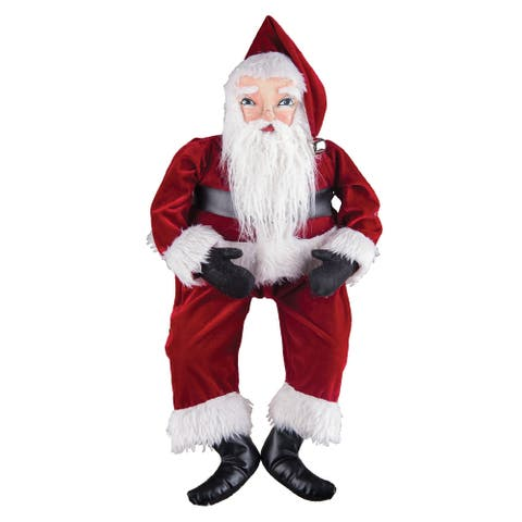 Whittaker Santa Joe Spencer Gathered Traditions Art Doll
