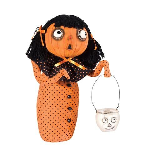 Hanna Pumpkin Gal Joe Spencer Gathered Traditions Art Doll