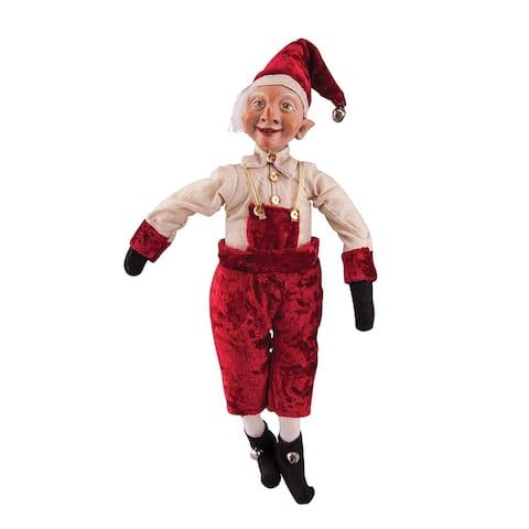 Ellery Elf Joe Spencer Gathered Traditions Art Doll