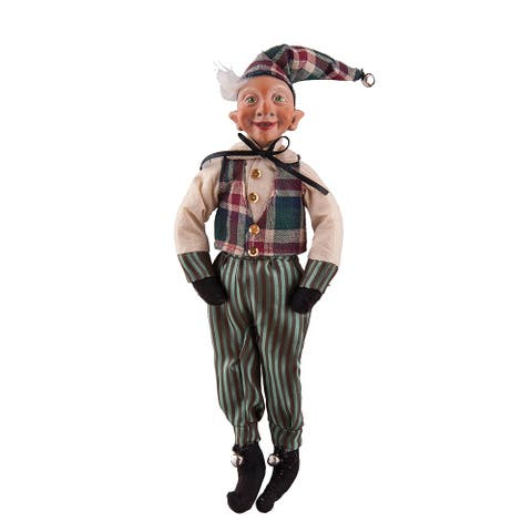 Egbert Elf Joe Spencer Gathered Traditions Art Doll