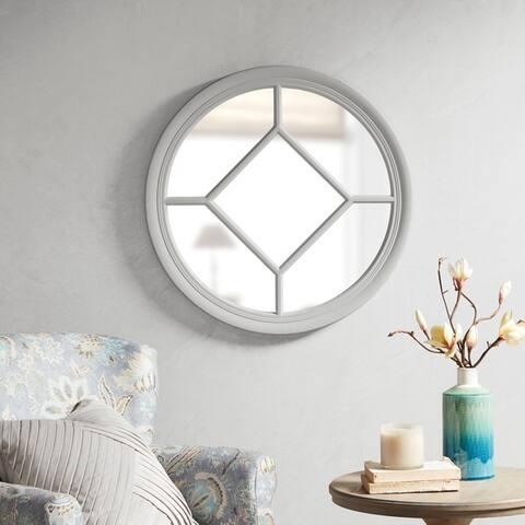 Martha Stewart Homestead Round Accent Mirror