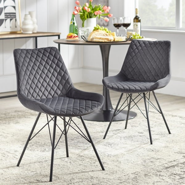angelo:HOME Kavitt Tufted Dining Chair (Set of 2)