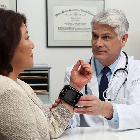 7 Series Wireless Wrist Blood Pressure Monitor