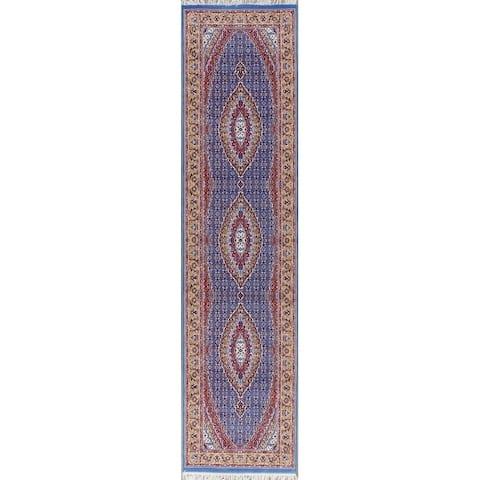 Traditional Bidjar Turkish Polyester & Jute Oriental Persian Rug