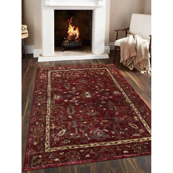 Modern Ikat Hand Knotted Jute Eco-friendly Carpet Indian Oriental Area Rug