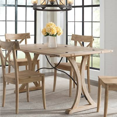 The Gray Barn Whistle Stop Folding Top Dining Table - N/A