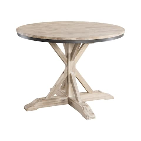Picket House Furnishings Keaton Round Standard Height Dining Table - N/A