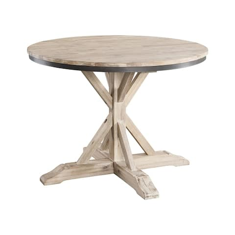 The Gray Barn Whistle Stop Round Standard Height Dining Table - N/A