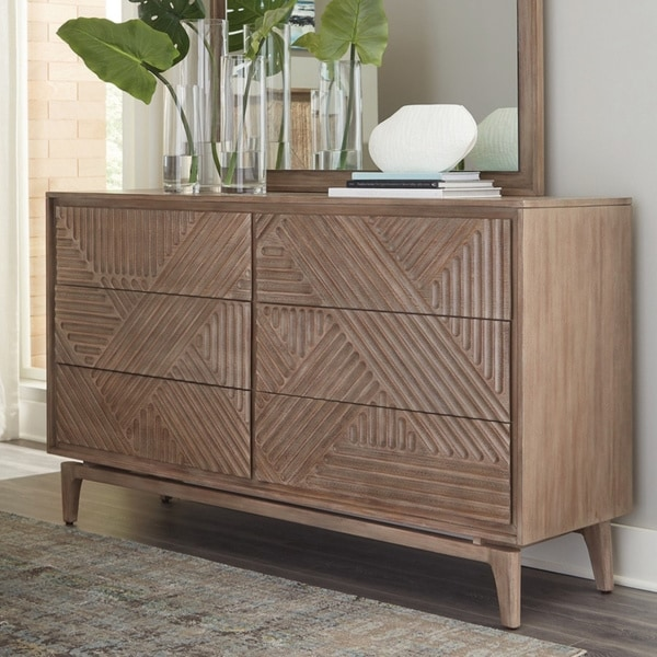 Carson Carrington Vaaranpera 6-drawer Dresser