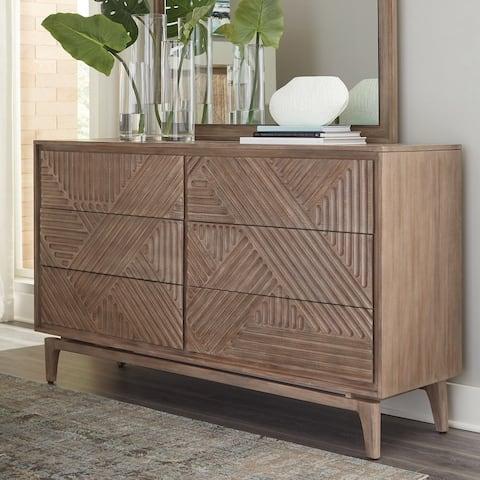 Carson Carrington Vaaranpera 6-drawer Dresser