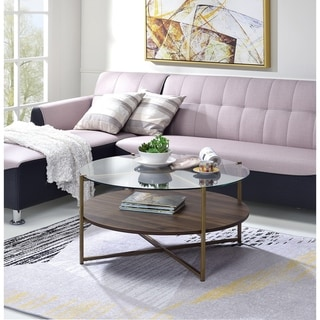 Carbon Loft Framboise Round Coffee Table