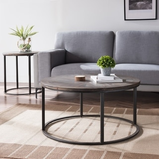 Carbon Loft Darren Modern Farmhouse Reclaimed Wood End Table