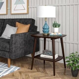 Link to Novogratz Brittany Walnut End Table Similar Items in Living Room Furniture