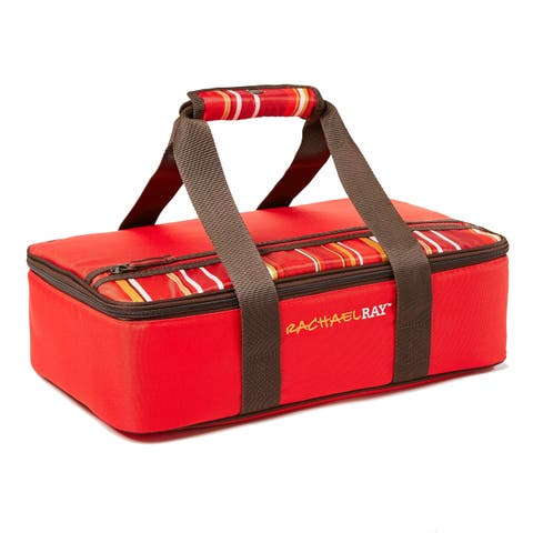 "Rachael Ray Lasagna Lugger for 9""x13"" Baking Dishes, Red"