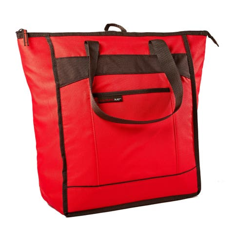 Rachael Ray ChillOut Thermal Tote Bag, Red