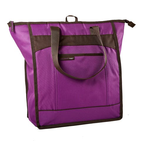 Rachael Ray ChillOut Thermal Tote Bag, Purple